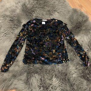 Dex Multi-Coloured Velvet Shirt (PM734)